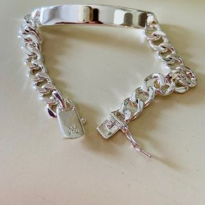 Jewelry - NEW STERLING SILVER 925 IDENTIFICATION BRACELET